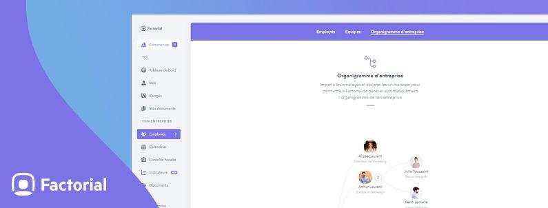 Modèle pour créer un organigramme d'entreprise gratuitement