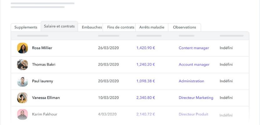 logiciel de gestion fiches de paie