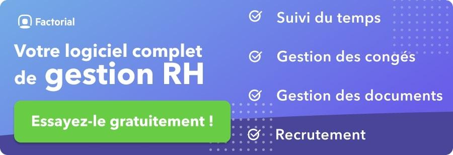 Logiciel de gestion RH