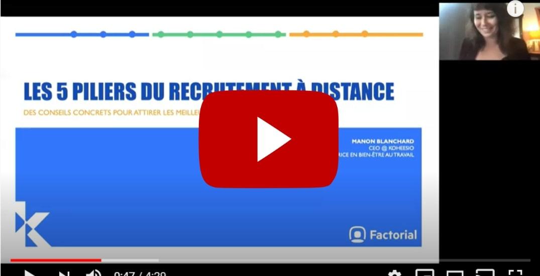 webinar recrutement a distance