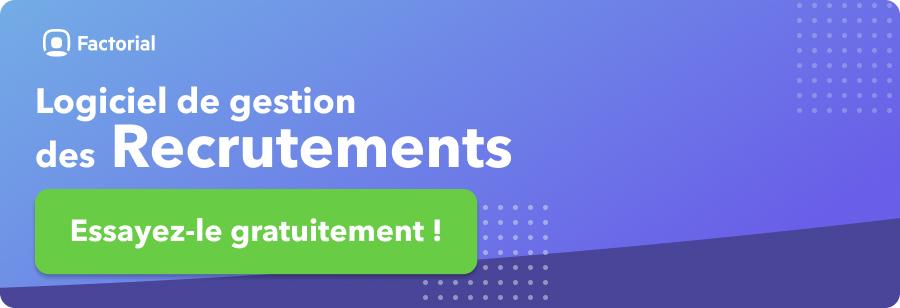 logiciel de recrutement